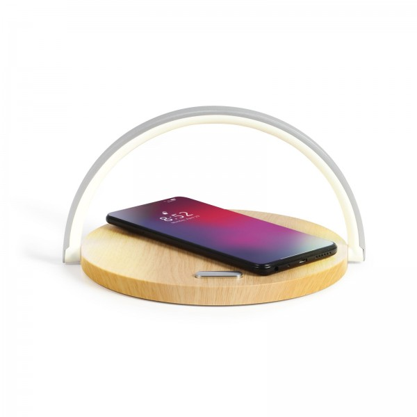 LIVOO Touch-Nachttischlampe Induktionsladestation Smartphone TEA247