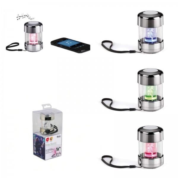 ClipSonic Lautsprecher Bluetooth Mikrofon LED-Farbwechsel TES129BT